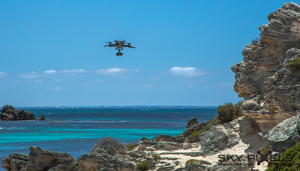 Rottnest Island Drone