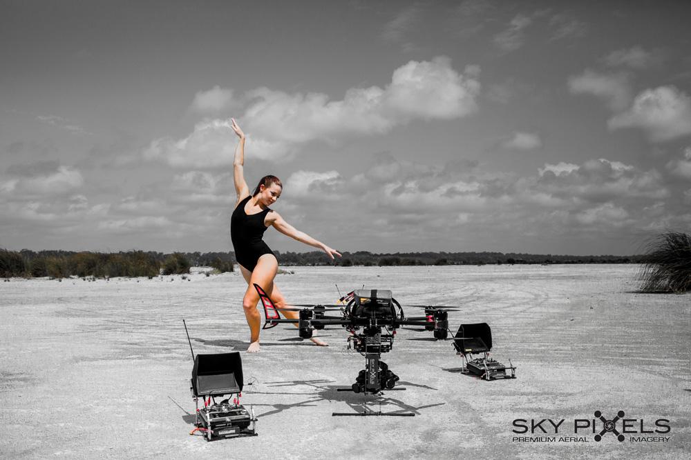 Ballerina & Drone