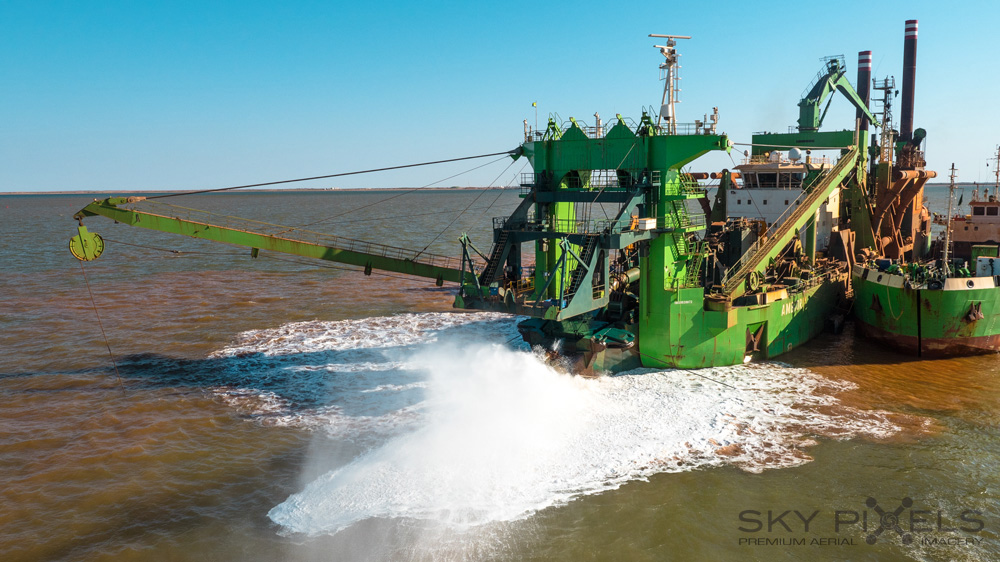 Dredging At Wheatstone Project