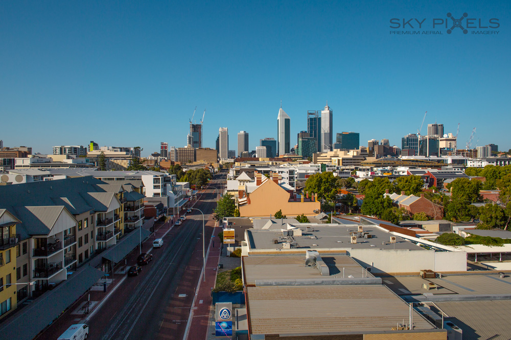 Development View of Perth