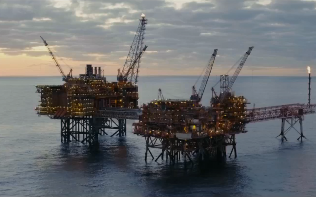 Woodside/IBM Trip – Shooting Aerial Video Offshore